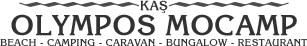 Kaş Olympos Mocamp / Bungalow, Camping, Caravan, Restaurant, Beach, Plaj, Çadır, Karavan, Bungalow, Konaklama